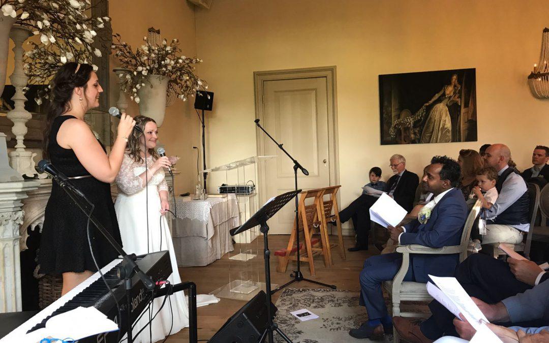 Verrassing: Bruid zingt zelf!